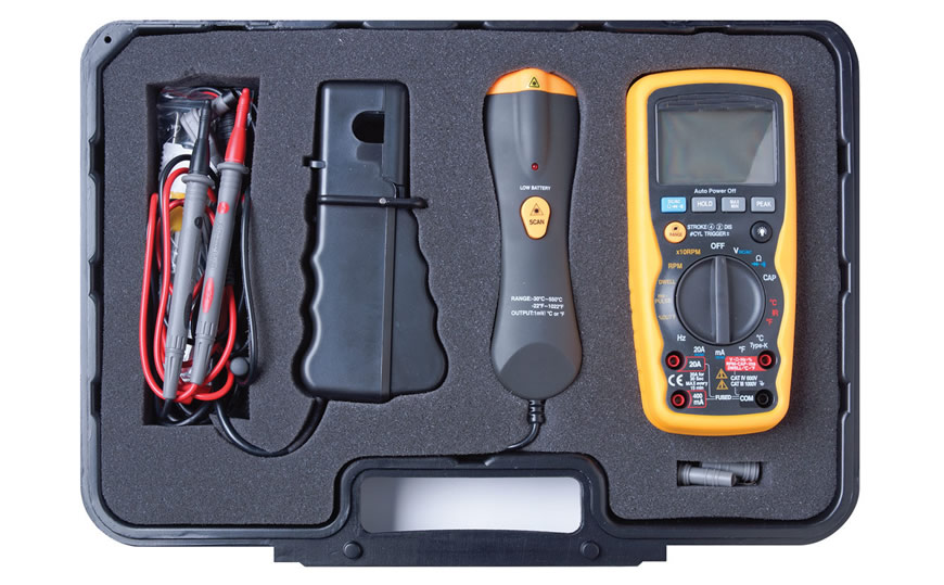 EQP-102 Automotive Multimeter and Infrared Thermometer