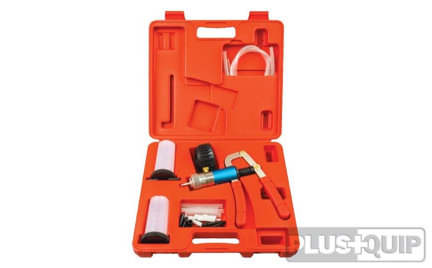 EQP-021 Vacuum Pump and Brake Bleeding Kit