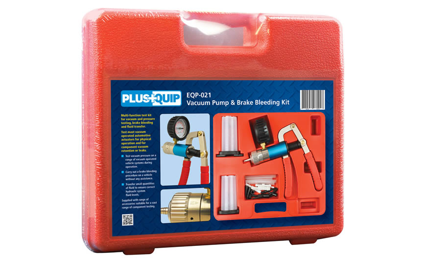 EQP-021 Vacuum Pump and Brake Bleeding Kit