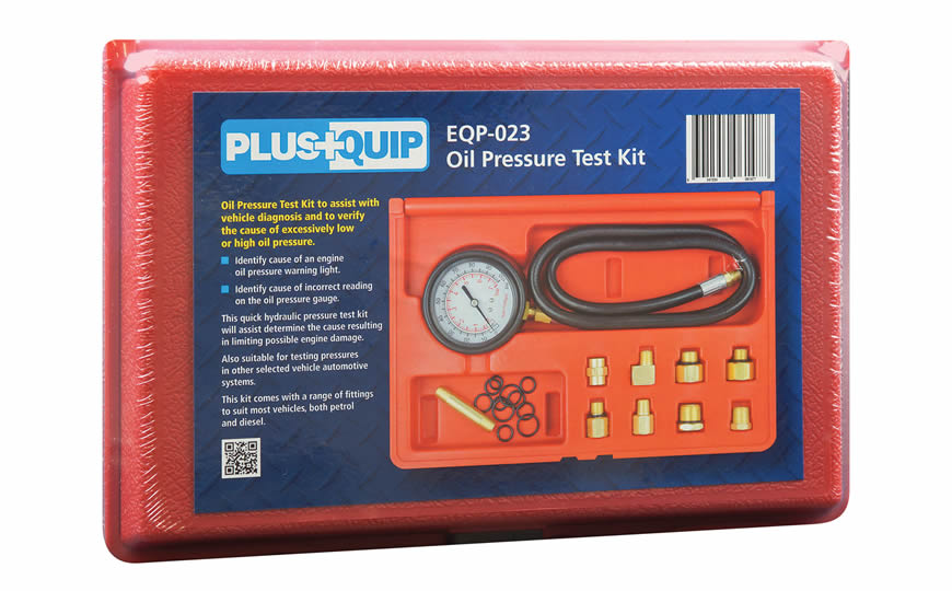 EQP-023 Oil Pressure Test Kit