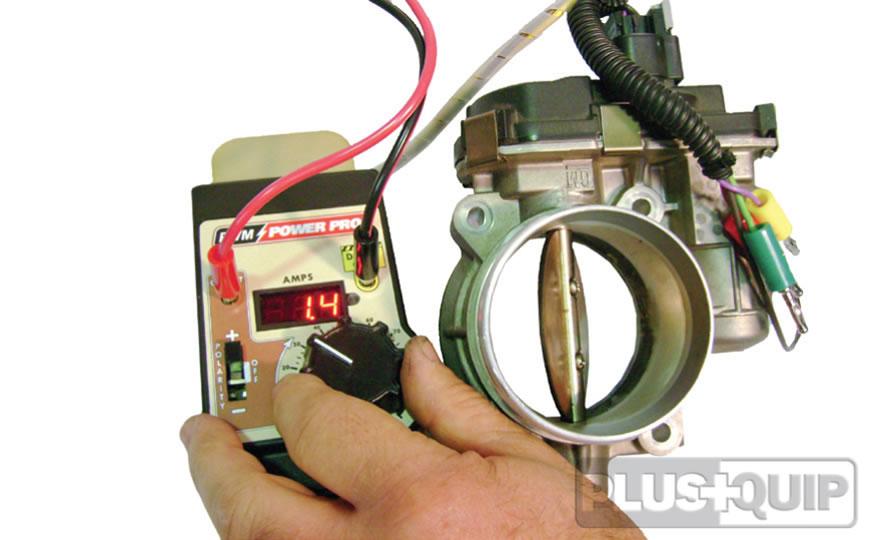 EQP-115 electronic EGR throttle body actuator tester