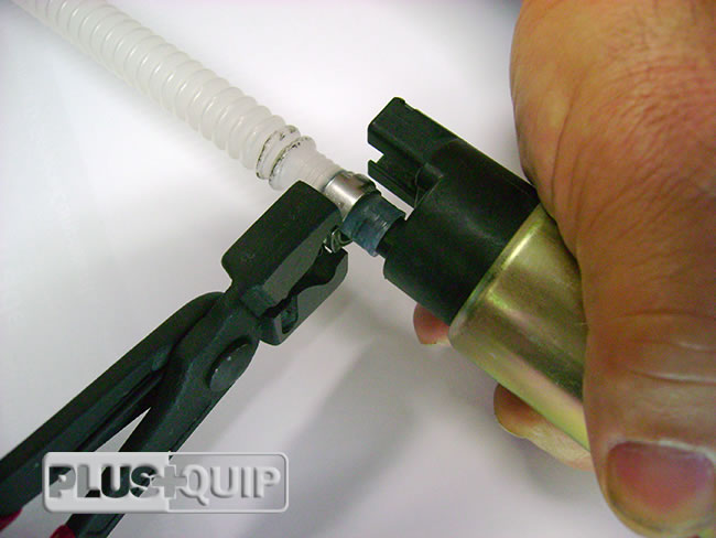 EQP-020 Hose Clamp Pliers in Use