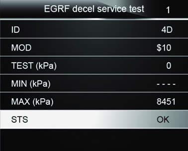 EQP 119 OBD11 Code Reader screen