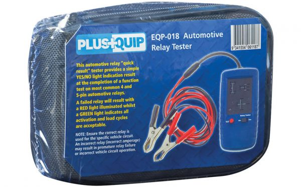 EQP 018 automotive relay tester