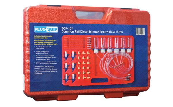 EQP-107 common rail diesel injector return flow tester