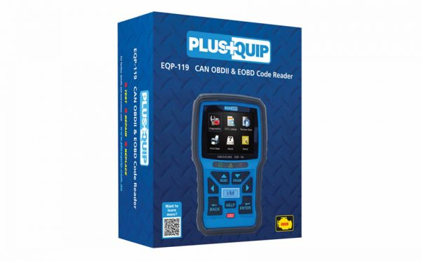 EQP-119 OBD11 Code Reader and Reset Tool
